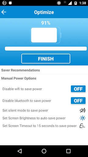Battery Saver HD & Task Killer - screenshot
