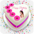 Photo & Name on Birthday cake: HD Photo frames
