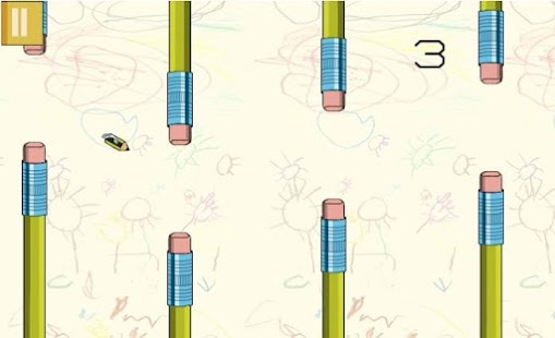 The Flying Pencil - screenshot