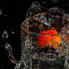 Water Splash by B.Thinesh Kumar - Abstract Water Drops & Splashes ( water drops, splash photography, splash water photography, water splash )