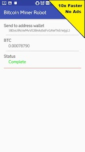 Bitcoin Miner Robot Keine Anzeigen (10x schneller) android apps download