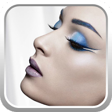 Technique blue makeup
