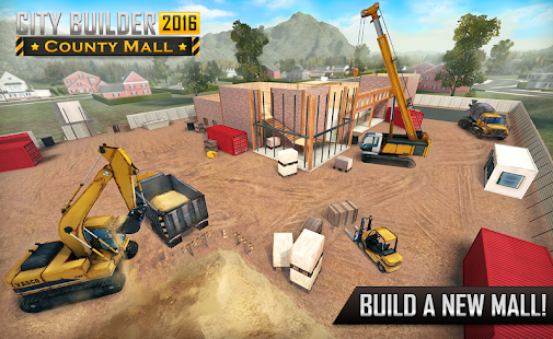City Builder 2016: County Mall APK for Bluestacks