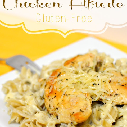 Easy 15-Minute Chicken Alfredo Gluten-Free