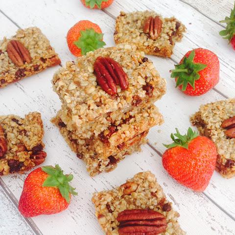 orange fruit recipe for healthy flapjacks fruit and nut