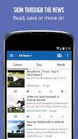 Screenshot of Horse Racing News - SF