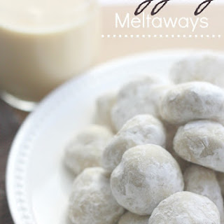Eggnog Meltaways