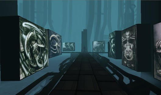 HR Giger VR Gallery Cardboard screenshot for Android