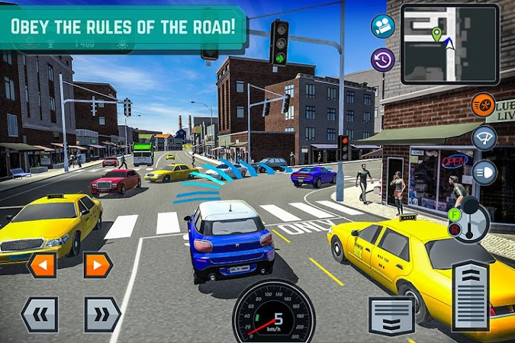 Car Driving School Simulator Android App Screenshot