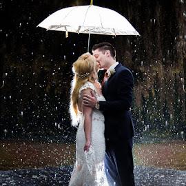 Rain by Lodewyk W Goosen (LWG Photo) - Wedding Bride & Groom ( wedding photography, wedding photographers, wedding day, brides, wedding photos, wedding photographer, bride and groom, bride, groom, bride groom )