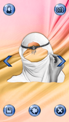 android Hijab Femme Photomontage Screenshot 5