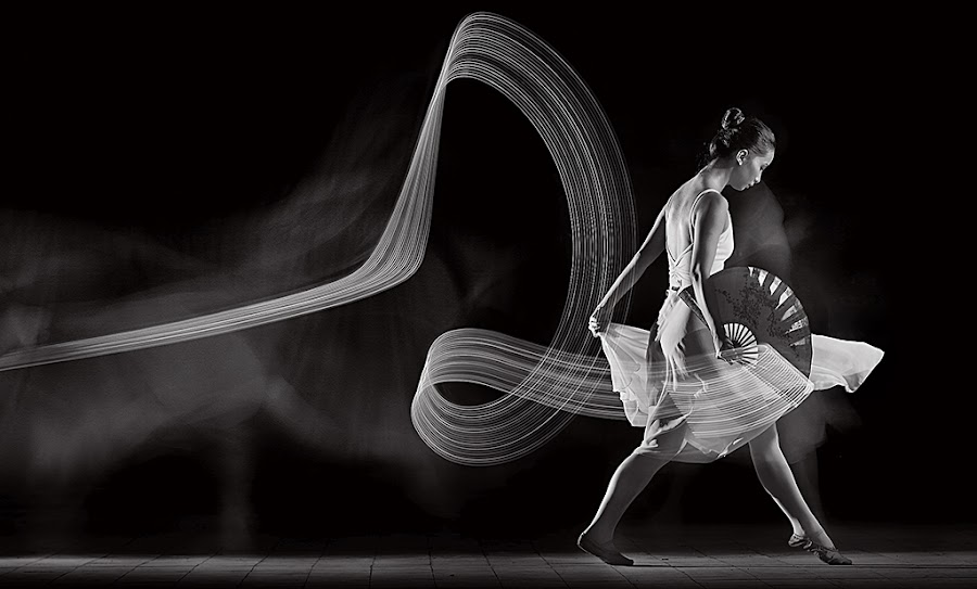 Fan Dance by Sofian Anwar - People Portraits of Women ( pwcprofiles )