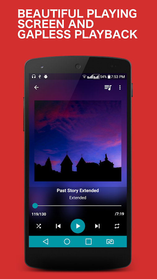 Ghost Music Player Pro Screenshot 0