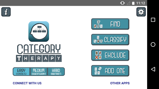 Category Therapy screenshot for Android