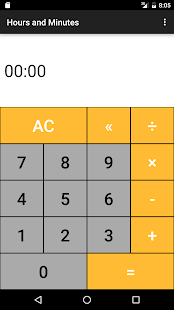 Hours & Minutes Calculator - screenshot