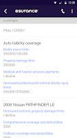 Screenshot of Esurance Mobile