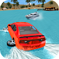 Water Surfer Car Driving APK for Bluestacks