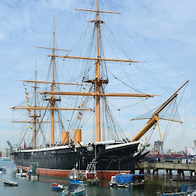 HMS Victory by Stephen Beatty - Transportation Boats (  )