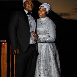 Wedding Couple by Johann Bekker - Wedding Bride & Groom