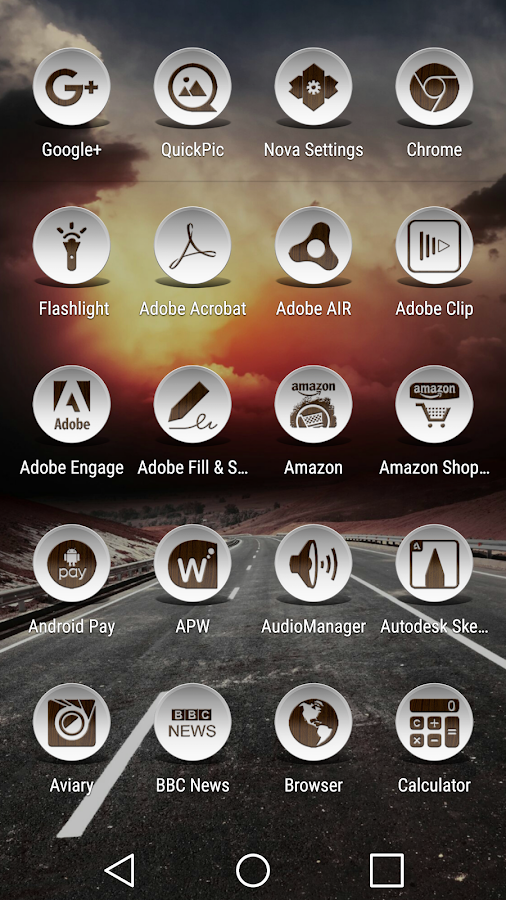 Daf Dark Wood - Icon Pack Screenshot 1