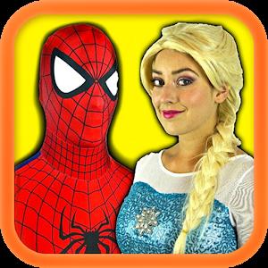 Superhero и принцессы видео