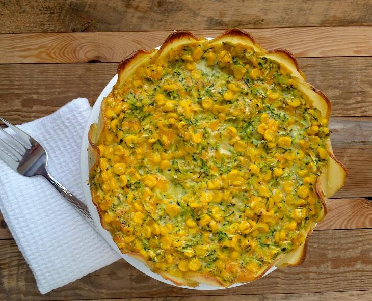 Corn Quiche Recipe In A Tef Crust Recipes — Dishmaps