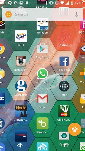 Hexy Launcher Screenshot