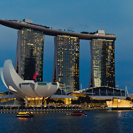 View from Esplanade by Jimmy Kohar - Buildings & Architecture Other Exteriors