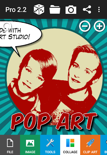 Pop Art Studio Pro - screenshot