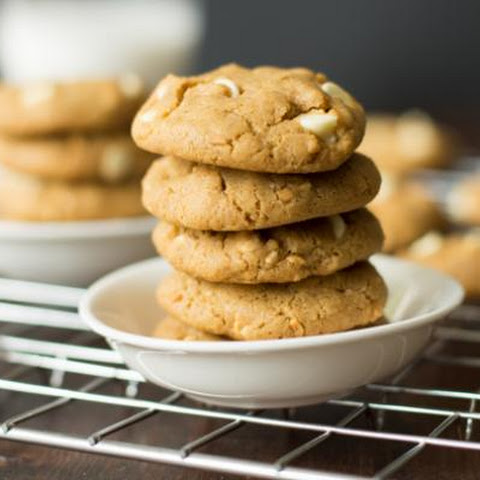 Peanut Butter White Chocolate Chip Cookies (Gluten-free)