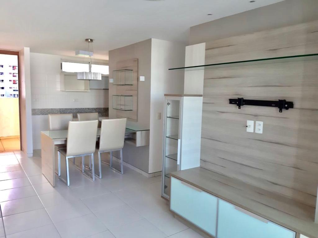 Apartamento, 79 m² - venda por R$ 535.000,00 ou aluguel por R$ 3.030,00/mês - Tambaú - João Pessoa/PB