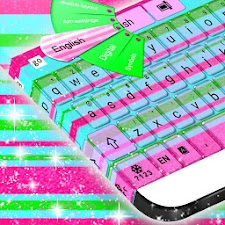 GO Keyboard Color Stripes