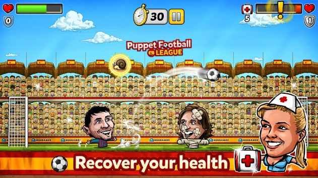 Puppet Football Spain CCG/TCG APK screenshot thumbnail 2