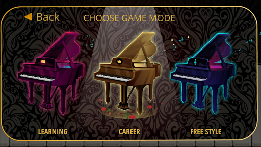 Piano Mozart - screenshot