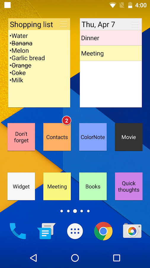 Colornote Notepad Notes Android Apps On Google Play