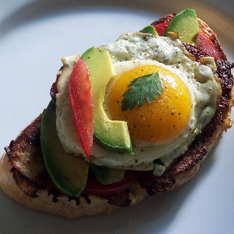Bacon Avocado and Tomato Toast Recipe   Yummly