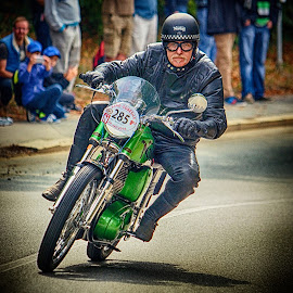 Veteran race by Jiri Cetkovsky - Sports & Fitness Motorsports ( brno, veteran, motorcycle, driver, race, historic )