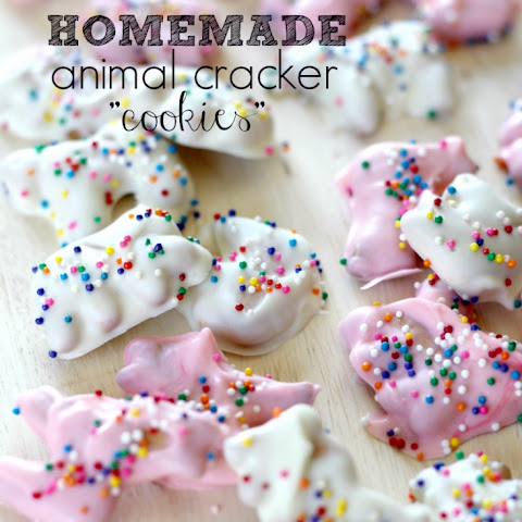 Semi Homemade Animal Cracker Cookies