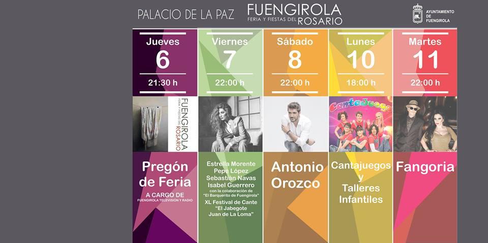 Pregón de Feria - Feria del Rosario