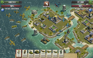 Screenshot of Battle Islands