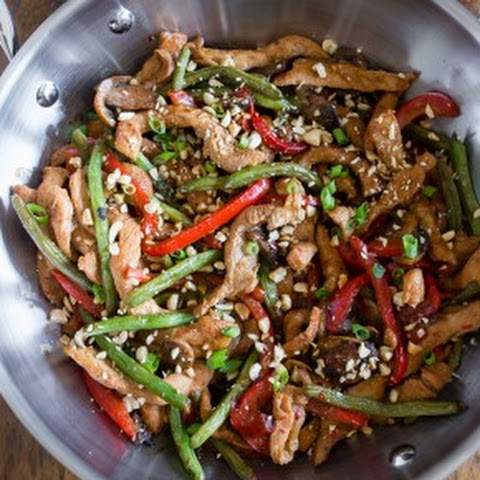 Spicy Garlic Pork Stir Fry