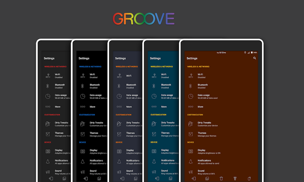 [Substratum] Groove Theme 1.2