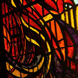 Holy Fire by Bonnie Burgeson - Abstract Light Painting