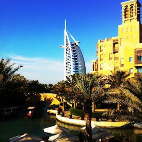 Burj Al Arab by Chirag Mer - Instagram & Mobile iPhone