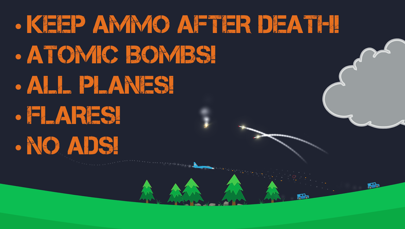 Atomic Fighter Bomber Pro Screenshot 5