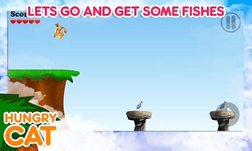 Game hungry cat cat and fish game apk for kindle fire for Fish game for cats