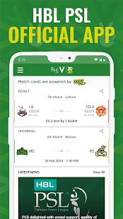 HBL PSL 2020 - Official Pakistan Super League App