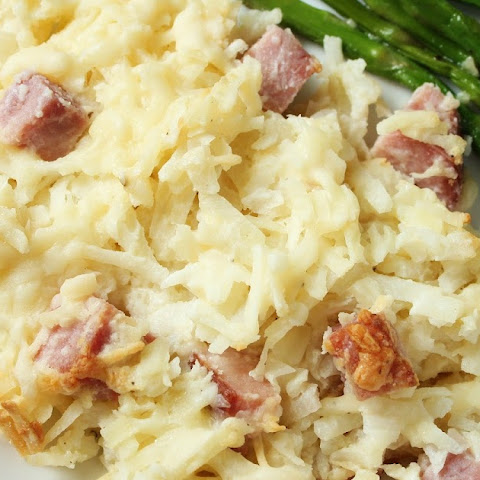 Asiago Ham & Hash Brown Casserole