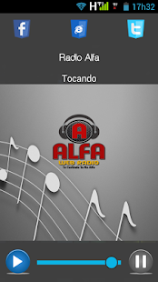 Rádio Alfa - screenshot
