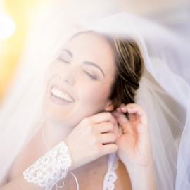 Prep by Lood Goosen (LWG Photo) - Wedding Bride ( bride, smiling, wedding photography, wedding photographer, bridal, veil, weddings, wedding day, wedding photographers, brides, preparation, wedding, bridals )